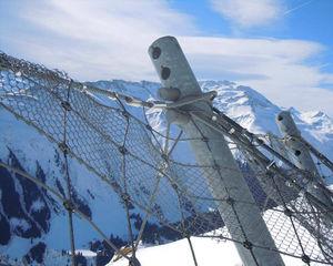 barrière de protection en acier