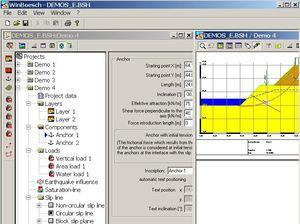 logiciel de calcul géotechnique / pour structures en béton