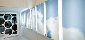 panneau décoratif en Solid Surface / en bois massif / pour agencement intérieur / lisse