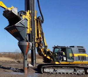 colonne ballastée pour amélioration des sols