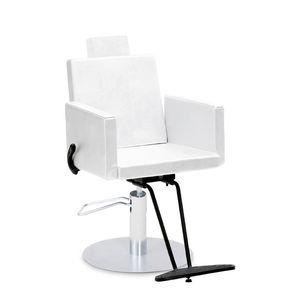 fauteuil de maquillage en métal