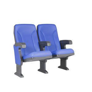 fauteuil de cinéma en tissu / bleu