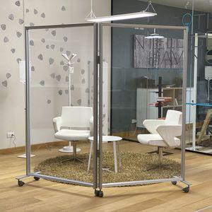 séparateur d'espace en aluminium