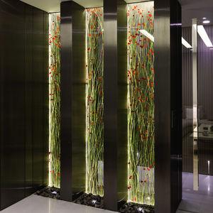 panneau décoratif de revêtement / d'ameublement / en résine / acrylique