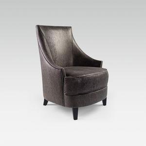 fauteuil classique / en tissu / avec revêtement amovible / pour hôtel