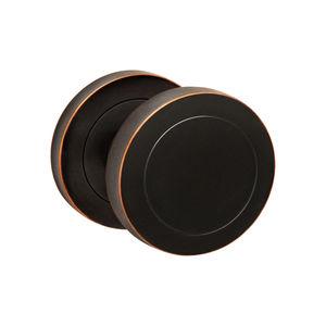 bouton de porte contemporain / en bronze