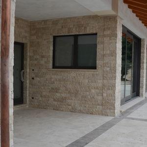mosaïque d'intérieur / d'extérieur / murale / en travertin