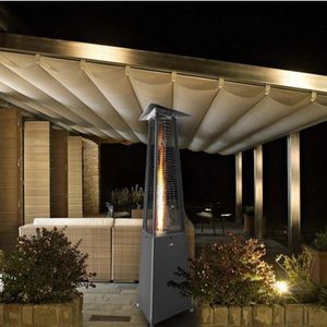 chauffage de terrasse infrarouge au sol / à gaz