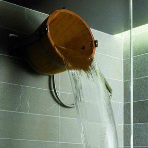 douche en bois