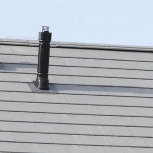 conduit de fumée en argile / système complet
