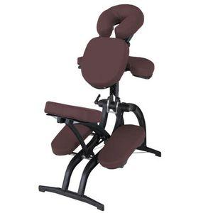 chaise de massage en simili cuir