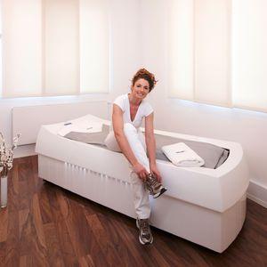 table d'eau de massage avec chromothérapie