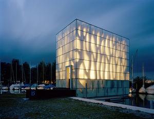 panneau en verre structurel