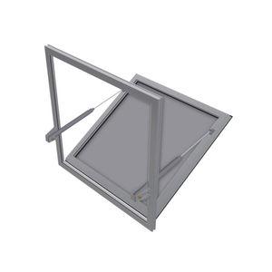 trappe de désenfumage aluminium
