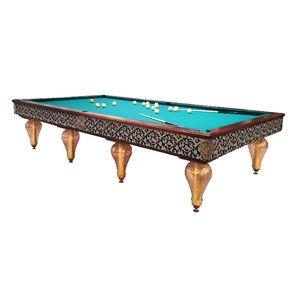 table de billard classique / haut de gamme / professionnelle / en bois