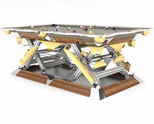 table de billard contemporaine / design nouveau baroque / convertible en table à manger / haut de gamme