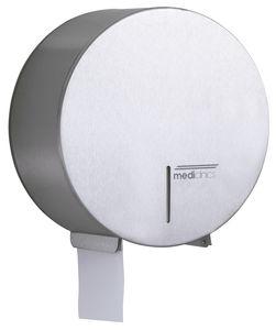 distributeur de papier toilette mural / en inox / professionnel