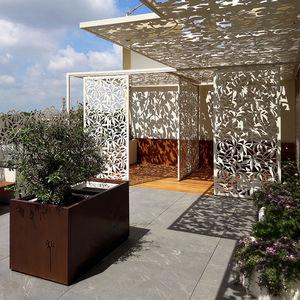 claustra en aluminium / de jardin / de terrasse / sur mesure