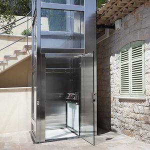 ascenseur électrique / pour le tertiaire / privatif / sans local machine