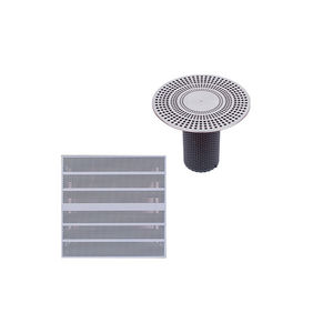 diffuseur à déplacement d'air de sol / rectangulaire / rond / carré