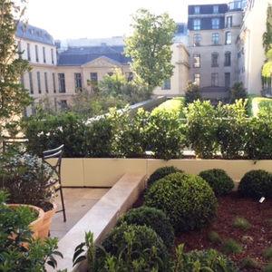 jardinière en aluminium / rectangulaire / en hauteur / linéaire