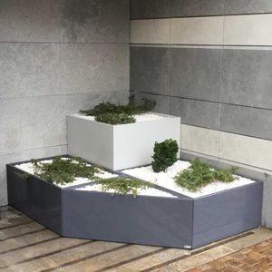 jardinière en fibro-ciment / rectangulaire / carrée / triangulaire