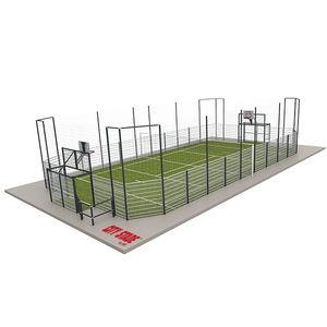 terrain multisports pour aire de jeux