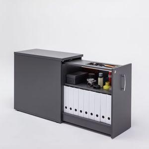 caisson de bureau en mélaminé / à 1 tiroir / modulaire