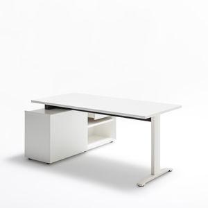 bureau pour open space / en chêne / en noyer / en bouleau