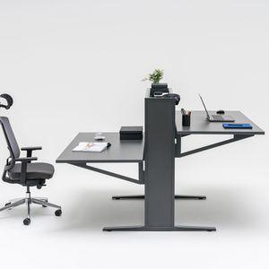 bureau en métal / en mélaminé / contemporain / professionnel