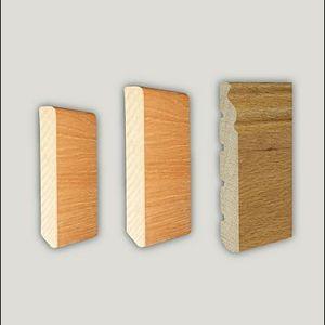 plinthe en bois
