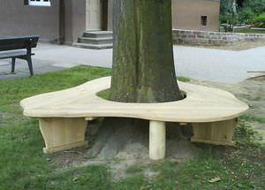 corset d'arbre en bois