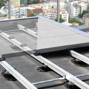 support pour plancher technique en aluminium