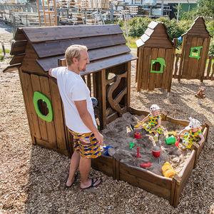 cabane pour enfant d'intérieur / pour extérieur