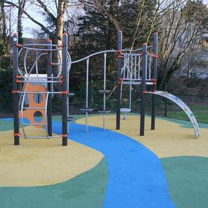 structure de jeu pour aire de jeux