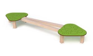 poutre d'équilibre pour aire de jeux