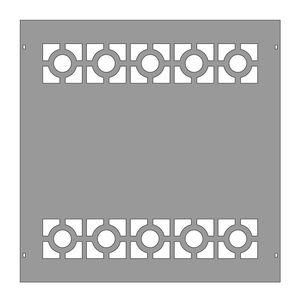 clôture de jardin / pour espace public / pour terrain de sport / pour chantier