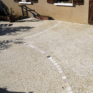 revêtement de sol en béton