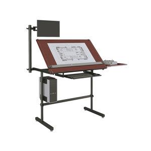 table à dessin en bois / en stratifié / rectangulaire / professionnelle