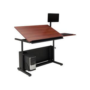 table à dessin en stratifié / rectangulaire / professionnelle / modulable