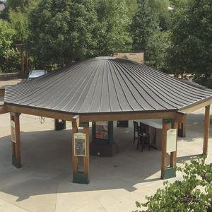 couverture de toit en cuivre