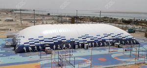 structure gonflable pour terrain de sport