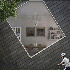 façade ventilée en ardoise