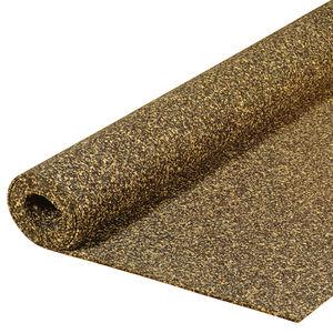 sous-couche acoustique en rouleau / en liège / en mousse de polyuréthane / recyclable