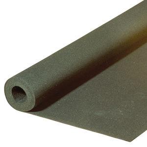 sous-couche acoustique en rouleau / en liège / en caoutchouc / recyclable