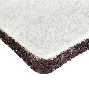 membrane de drainage en caoutchouc / de protection / pour drainage / pour toiture