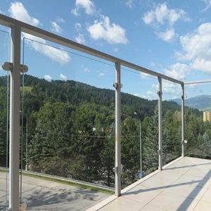 panneau en verre à isolation thermique / pour agencement intérieur / pour façade / pour garde-corps