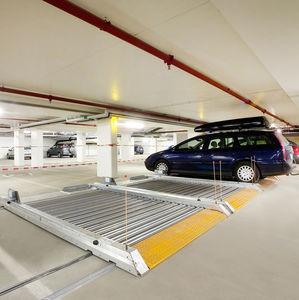 plateforme pour parking coulissante