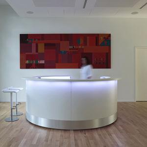 banque d'accueil modulable