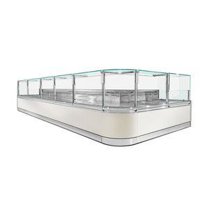 vitrine réfrigérée comptoir / éclairée / pour chocolats / pour restaurant